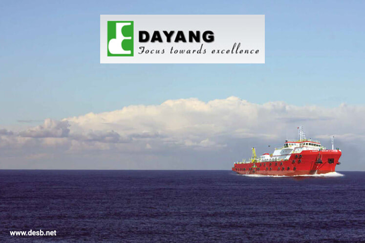 Dayang active, up 1.42% after landing 5-year contract from SEA-Hibiscus