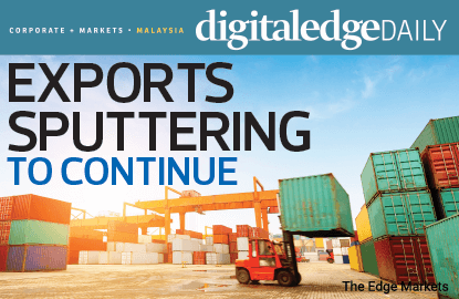 Exports sputtering to continue