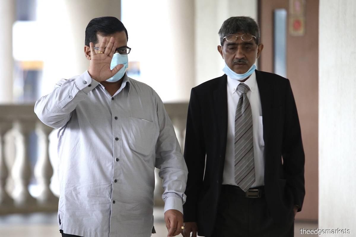 Deepak Jaikishan (left) and Mohd Haniff Khatri Abdulla (right)