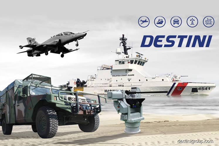 Destini gains 3.28% on positive technicals