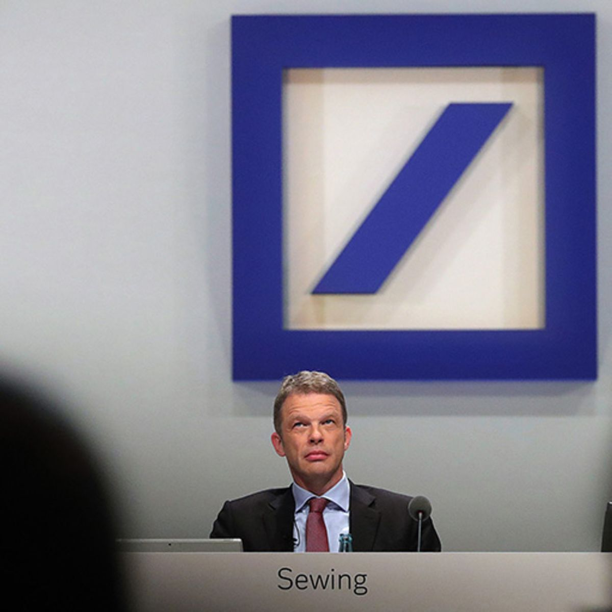 Deutsche Bank CEO doesn't expect to become target in probe