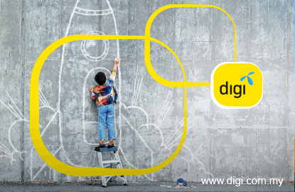 DiGi's 4Q net profit falls 31.7% on higher costs, pays 4.9 sen dividend