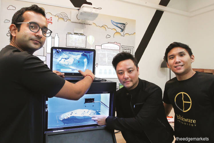 From left: Dimishtra, Koh and Arafat. (Photo by Kenny Yap/The Edge)