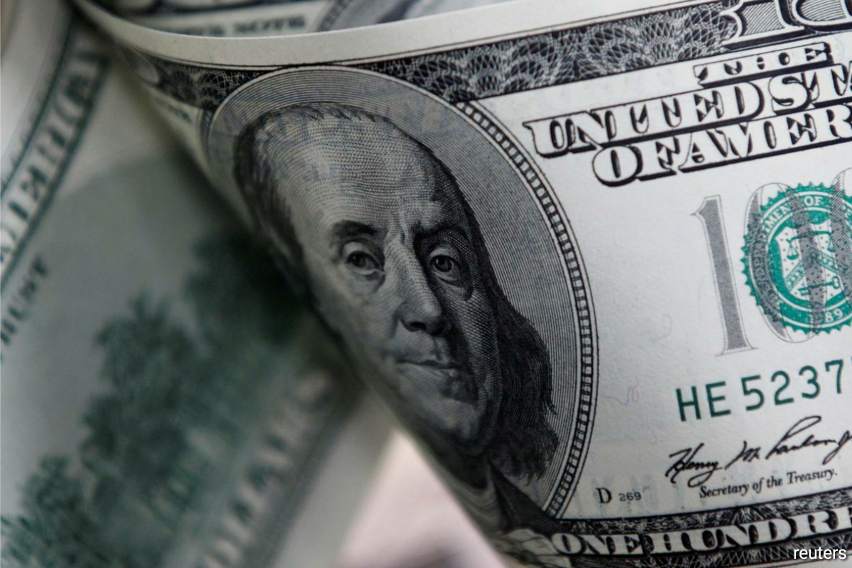 The dollar also traded near a three-month high against the Swiss franc and held on to gains against most currencies as a renewed sense of calm in the Treasury market supported sentiment.