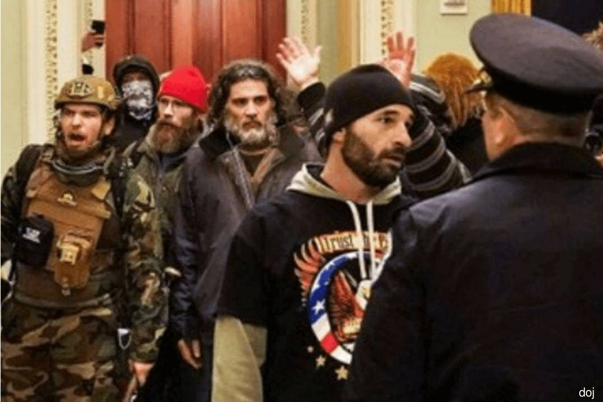 Proud Boys member tells court Trump to blame for inciting Capitol riot