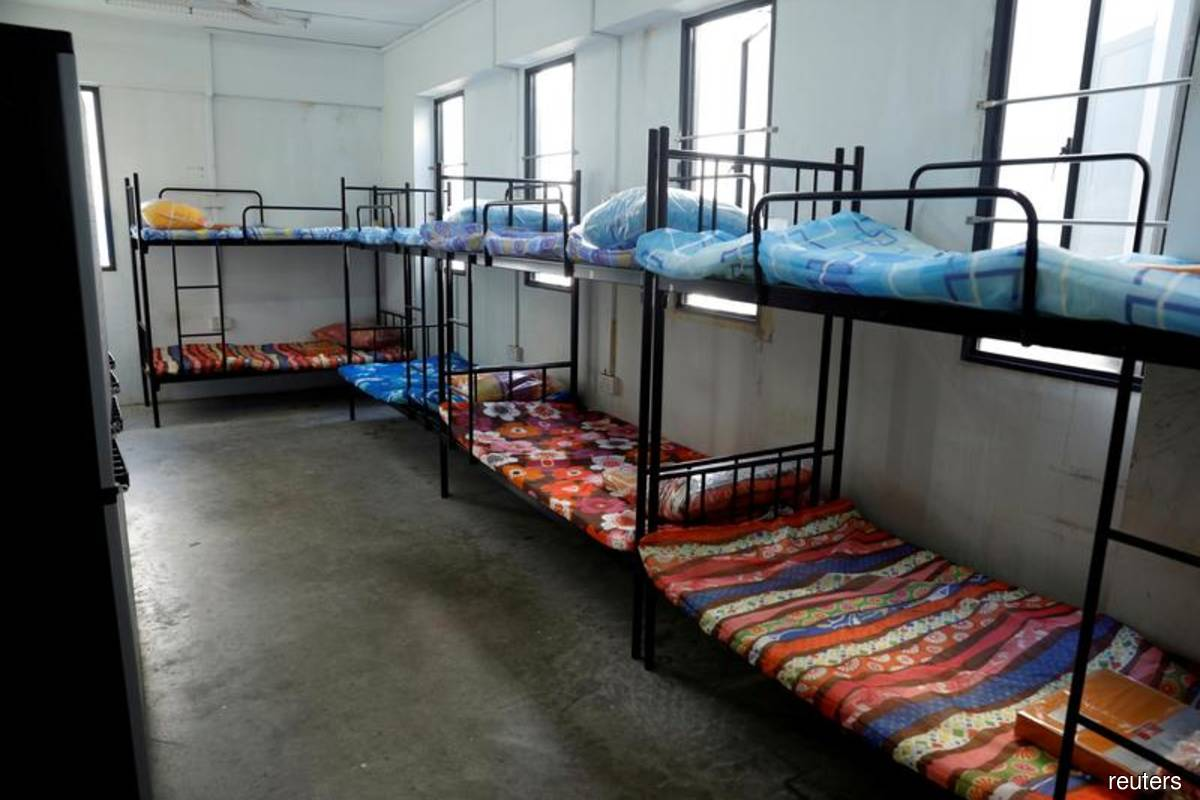 Singapore grapples with coronavirus in migrant workers' dormitories