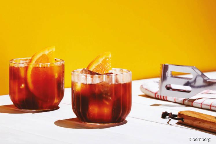 Cocktails of summer