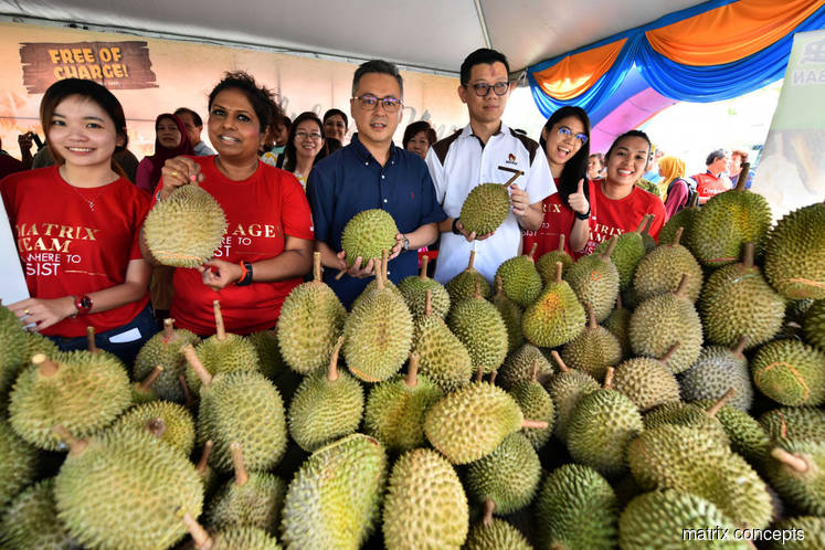 Matrix Concepts to throw another Musang King fiesta this Saturday