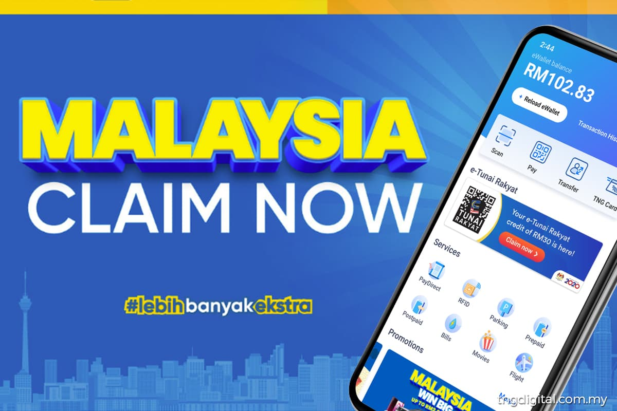 Malaysians can claim RM50 ePENJANA incentive with Touch N' Go eWallet