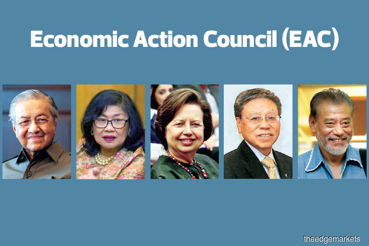 Members of newly-formed Economic Action Council named