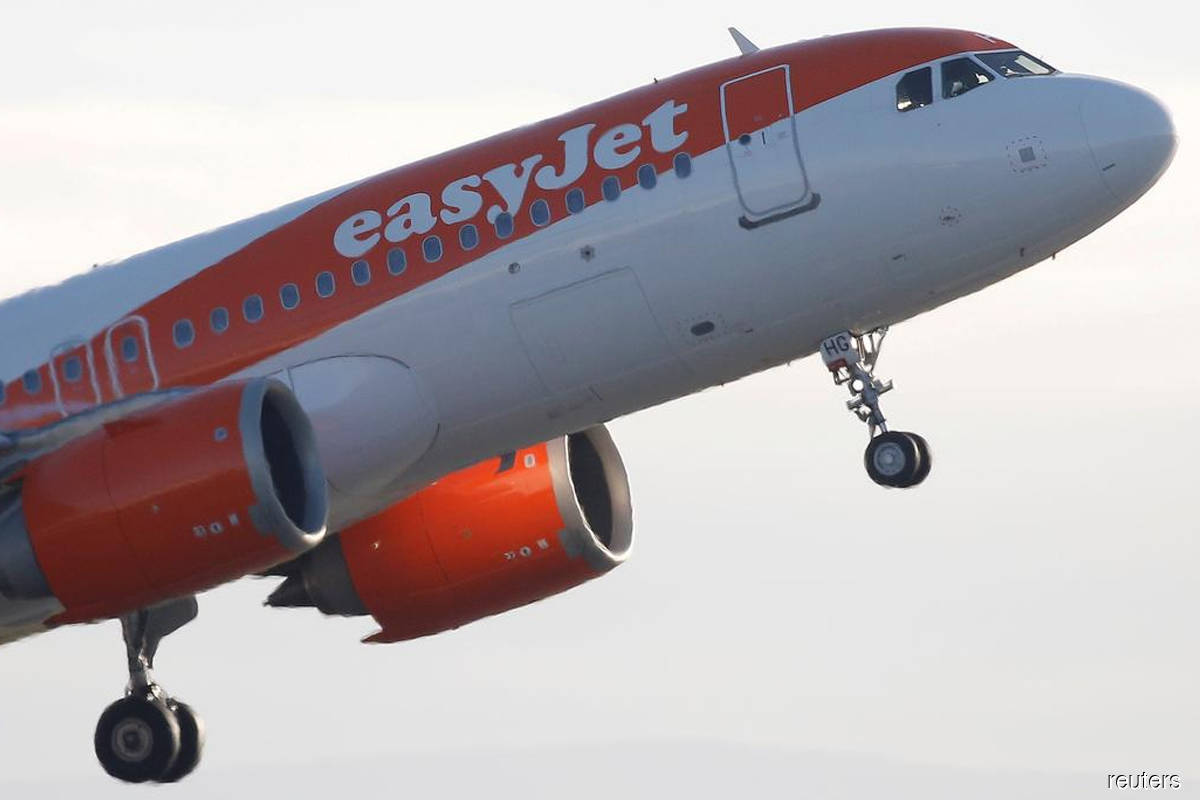 Travel is back, UK's easyJet says after US$1.5b pandemic loss