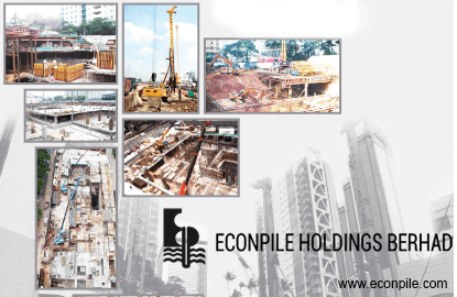 Econpile secures RM216m new jobs for FY16F thus far