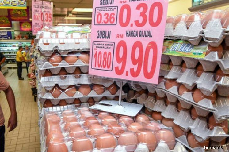 Three chicken egg producers charged with profiteering