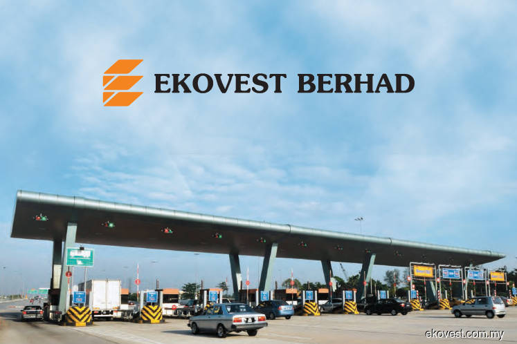 Ekovest shares down 8% to lowest level in a month