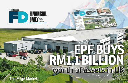 EPF buys RM1.1b worth of assets in United Kingdom