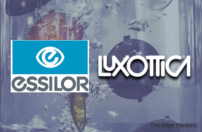 Luxottica, Essilor agree 46-bil euro merger to create eyewear giant