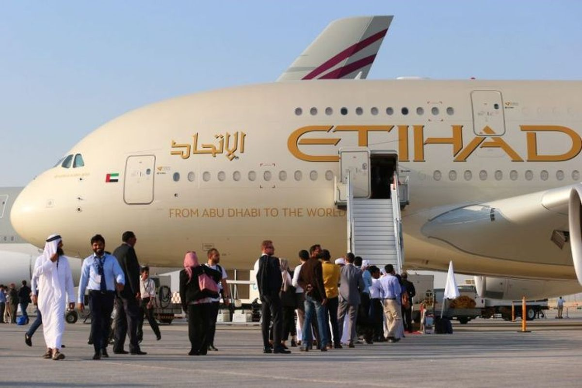 Etihad Airways conducts first commercial flight from Abu Dhabi to Tel Aviv