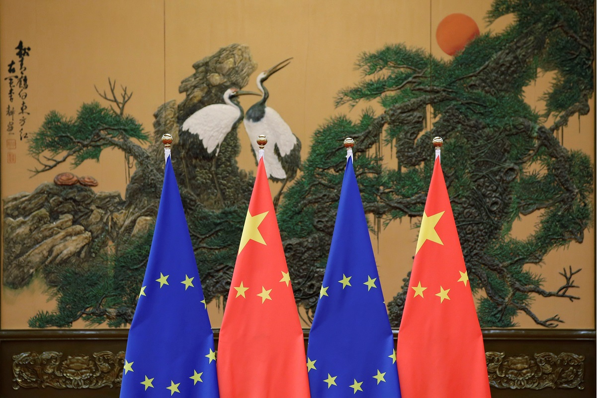 EU says not seeking escalation with China, working on investment deal