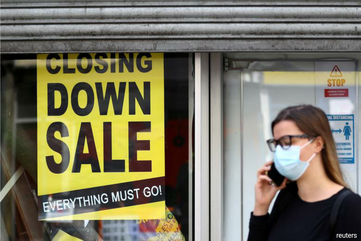 The McKinsey survey of more than 2,200 companies in five countries - France, Germany, Italy, Spain and Britain - found that 55% expected to shut down by September next year if their revenues remained at current levels. (Photo by Reuters)