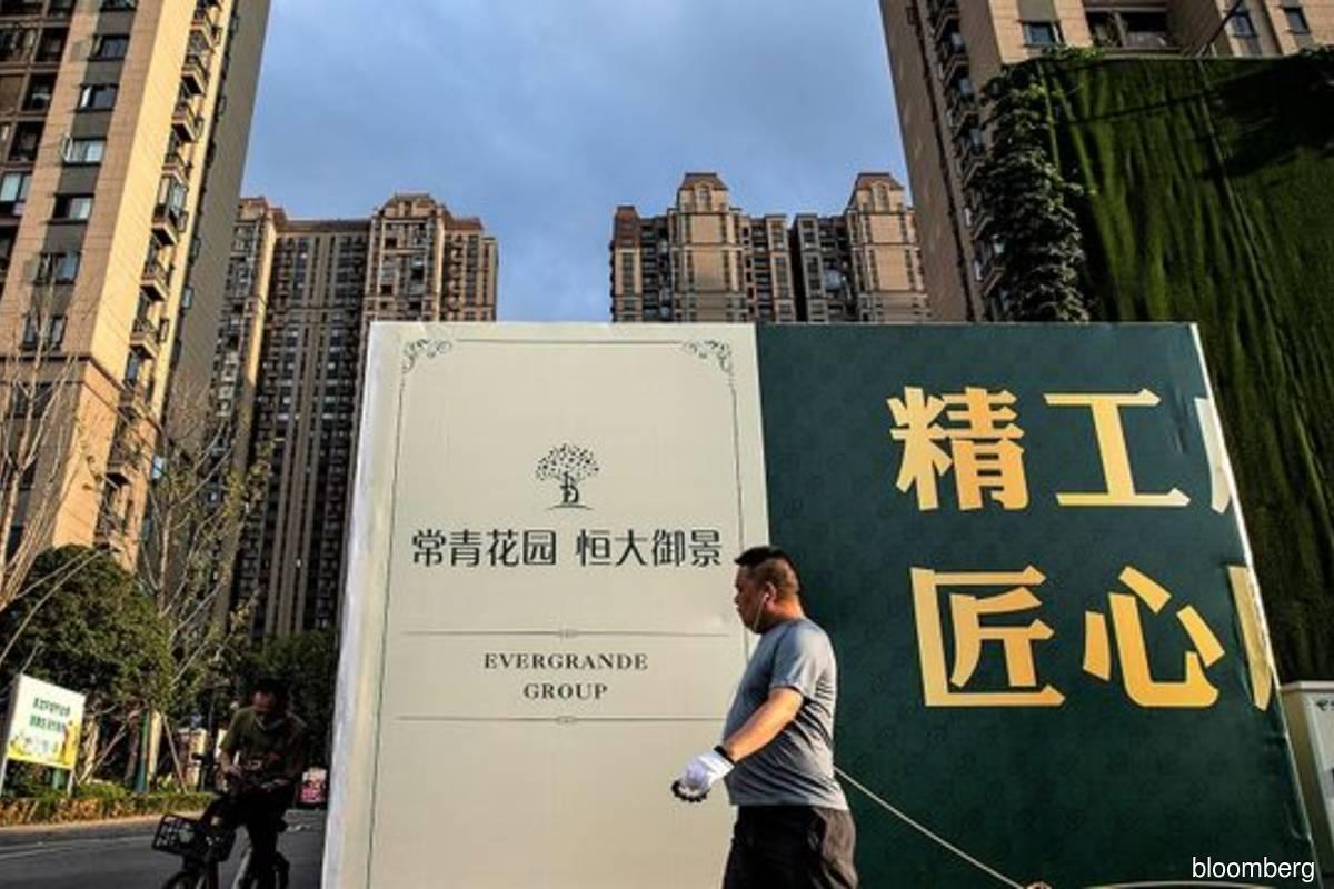 Hong Kong asks banks to report exposure to China Evergrande