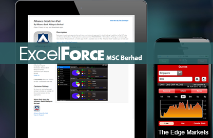 Excel Force up 10.5% after MyEG co-founder says may up stake
