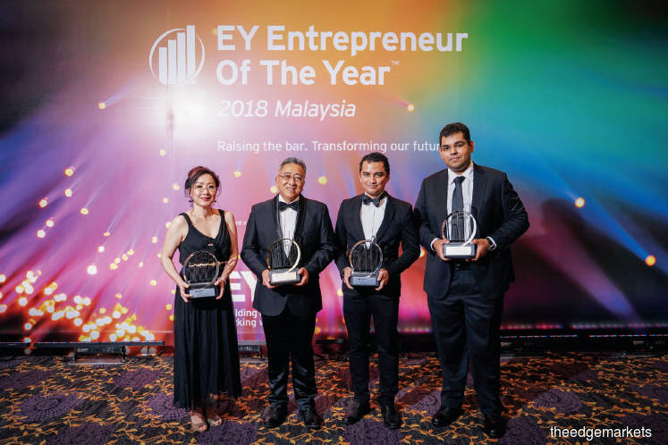 EY Entrepreneur Of The Year: Search begins for Malaysia's most outstanding entrepreneur for 2019