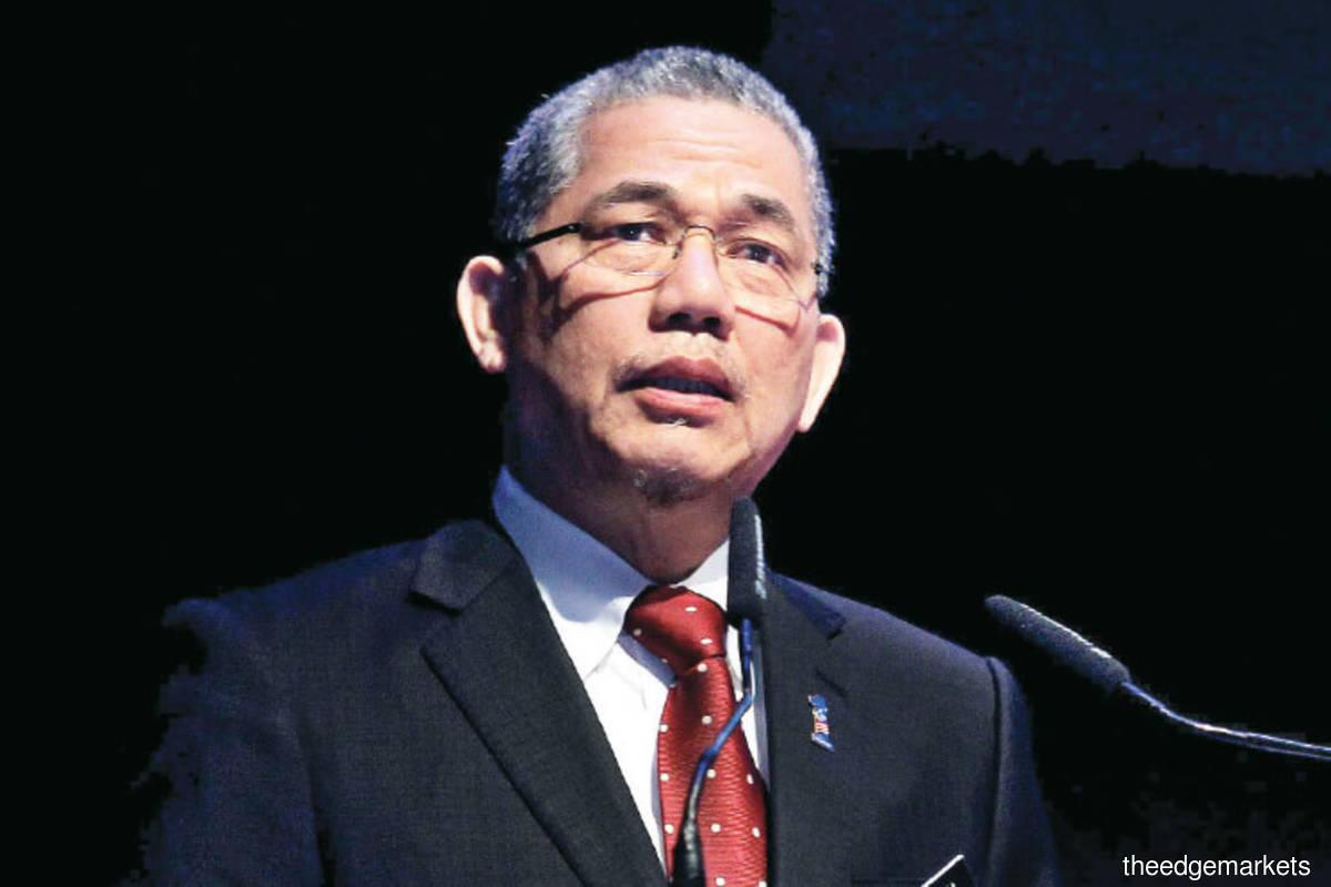 Senior Works Minister Datuk Seri Fadillah Yusof