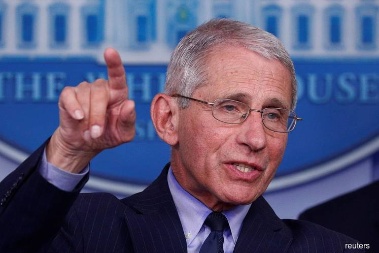 Fauci: I'd love to see more than one vaccine get to the goal line, as it were. The world needs more than one vaccine. (Photo by Reuters)