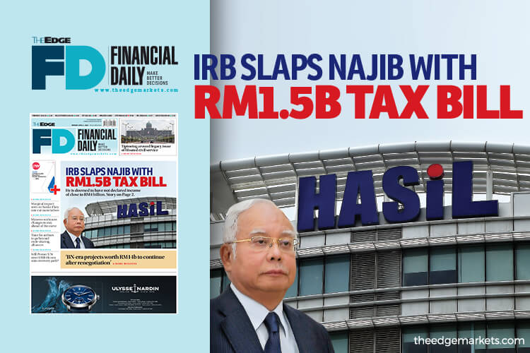 IRB slaps Najib with RM1.5b tax bill