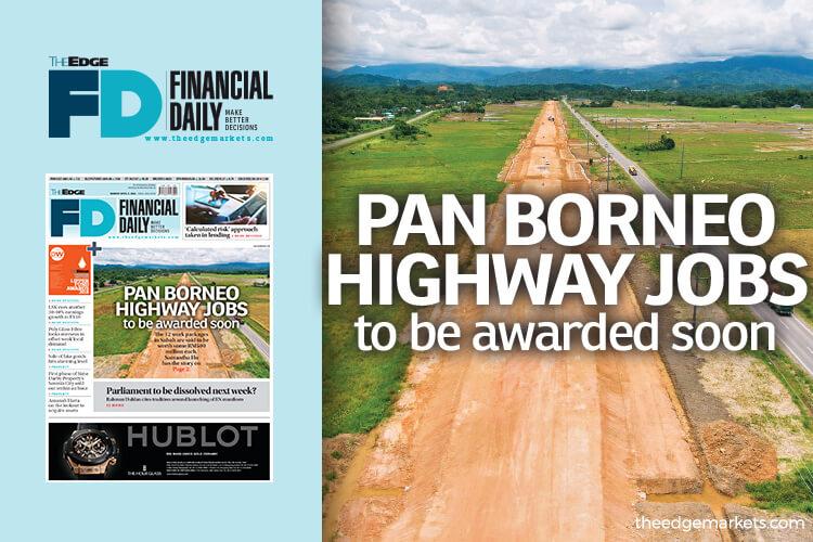 Pan Borneo Highway job awards out soon