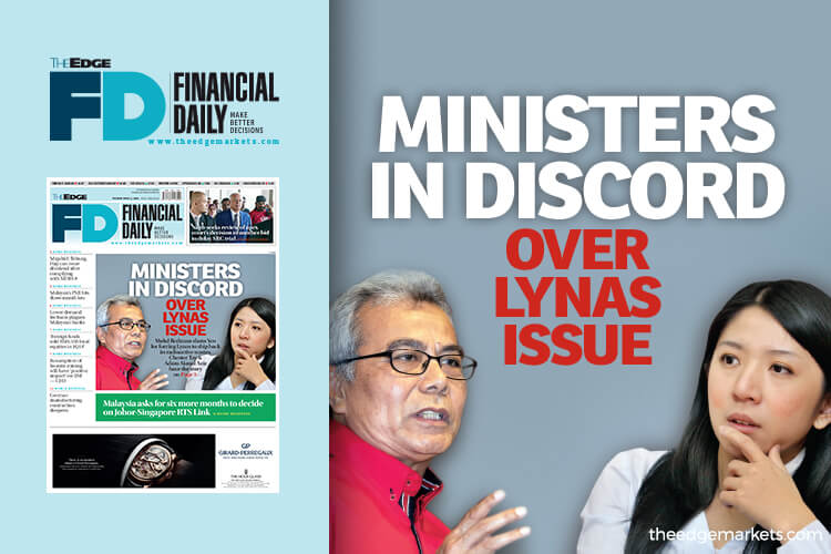 Ministers in discord over Lynas issue