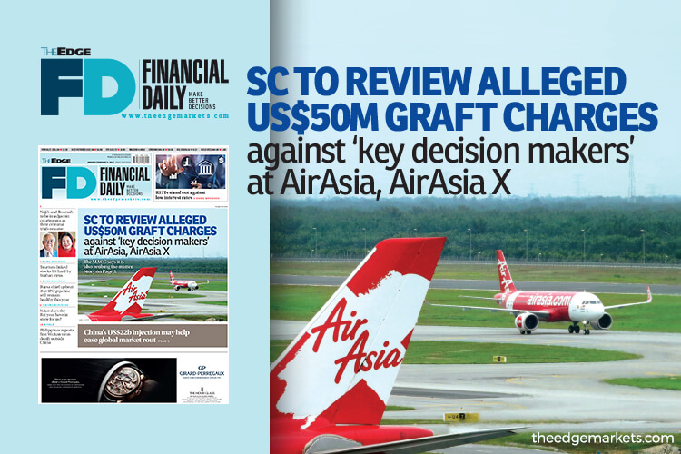 SC to review US$50m graft claims against executives at AirAsia, AirAsia X