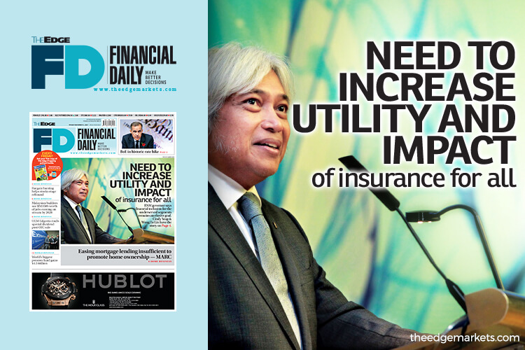 'Need to increase utility and impact of insurance for all'