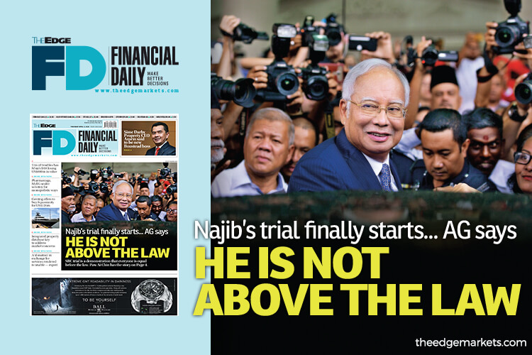 Najib not above the law — AG