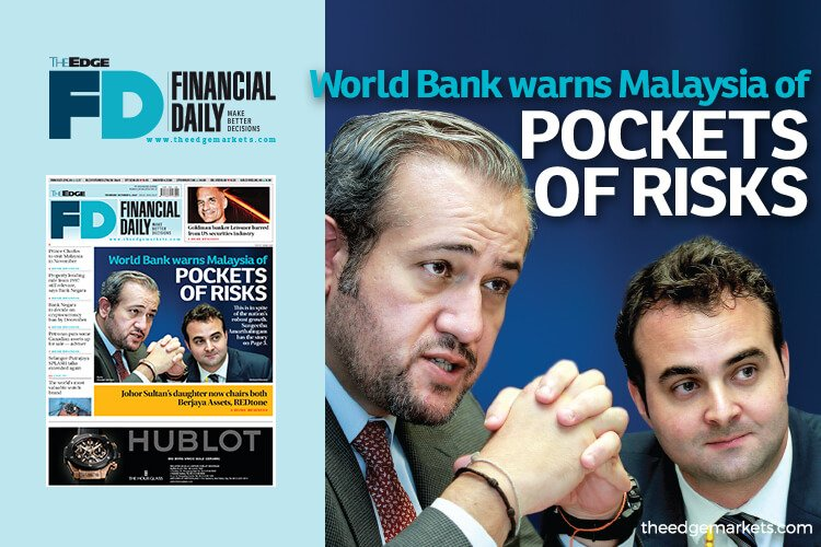 World Bank warns M'sia of pockets of risks