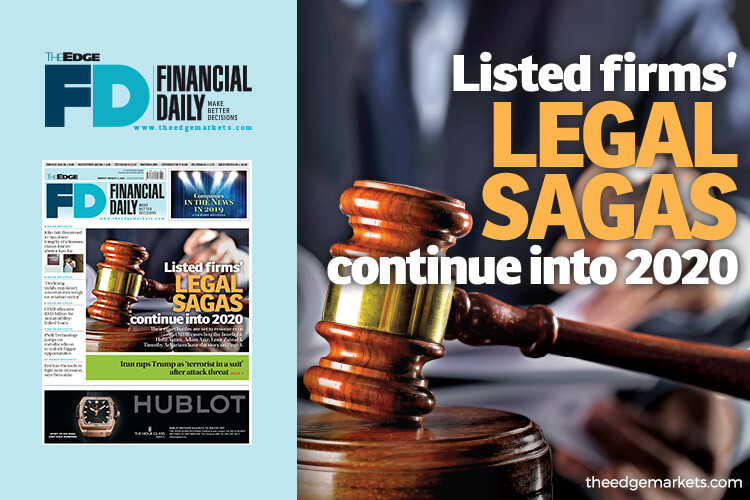 Listed firms' legal sagas continue into 2020