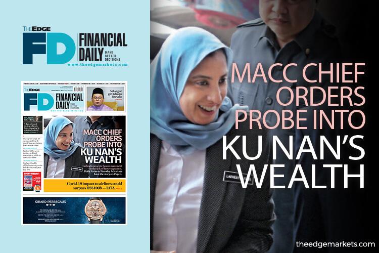 MACC chief orders probe into Ku Nan's wealth