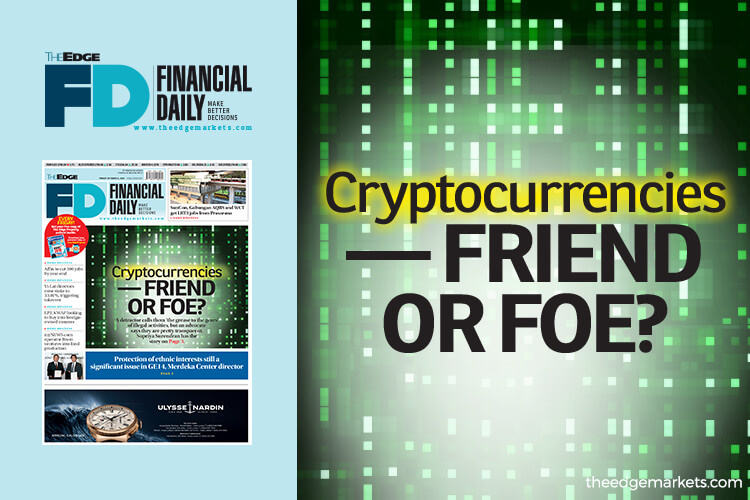 Cryptocurrencies — friend or foe?