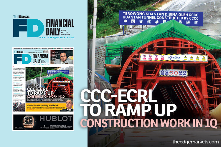 CCC-ECRL to ramp up construction work in 1st quarter
