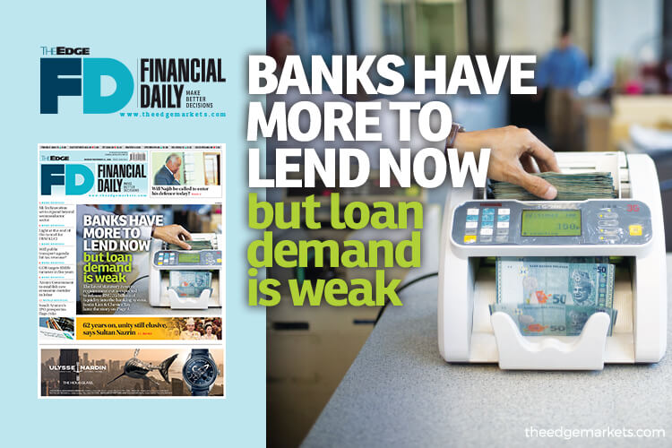 Banks have more to lend now but loan demand is weak