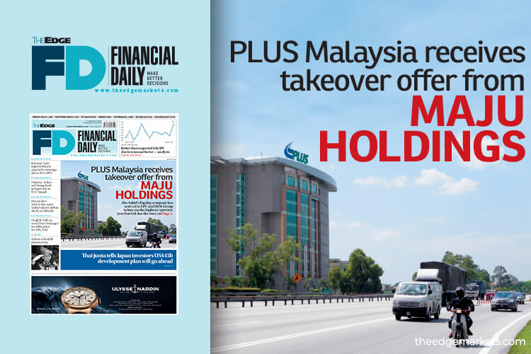 PLUS receives takeover offer from Maju Holdings
