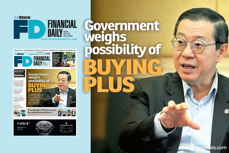 Government weighs possibility of buying PLUS