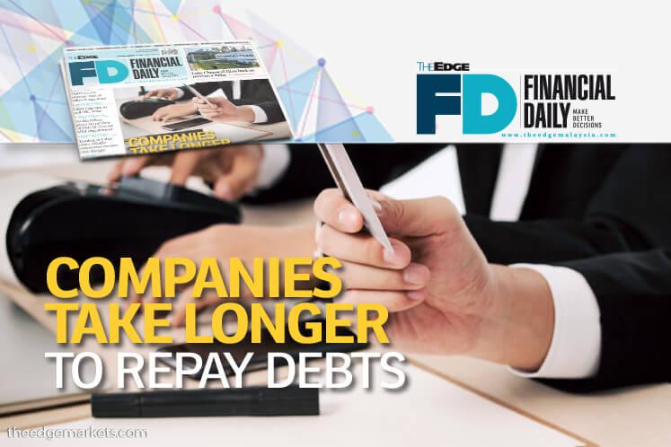 Companies take longer to repay debts
