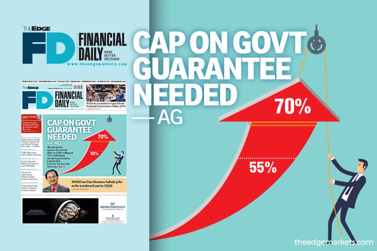 Cap on govt guarantee needed — AG
