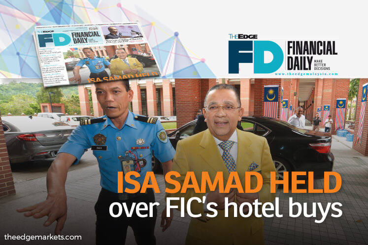 Isa held over FIC's hotel buys