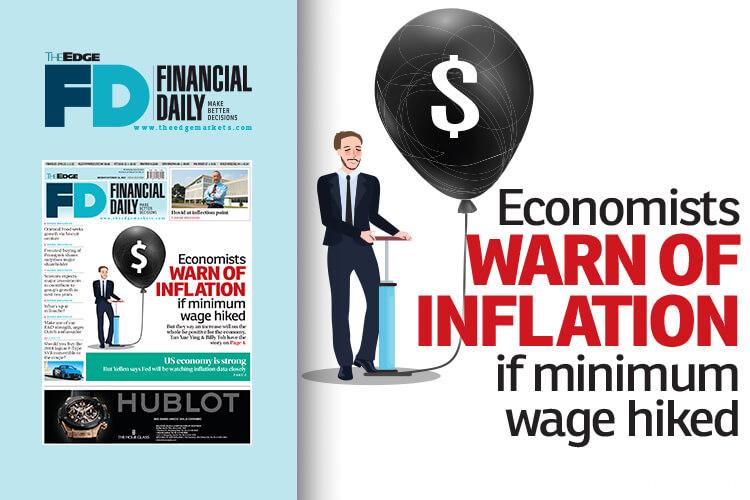 Economists warn of inflation if minimum wage hiked