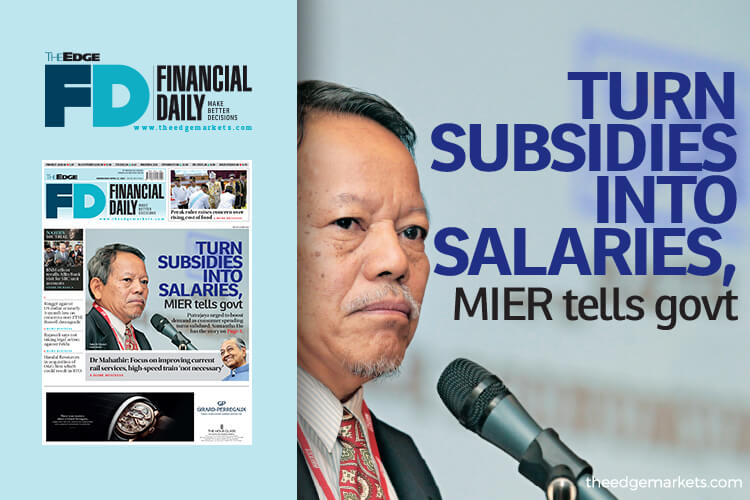 Turn subsidies into salaries, MIER tells government
