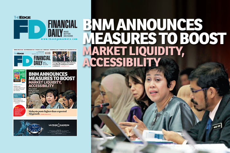 BNM announces measures to boost market liquidity, accessibility