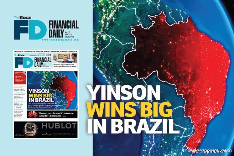 Yinson wins big in Brazil