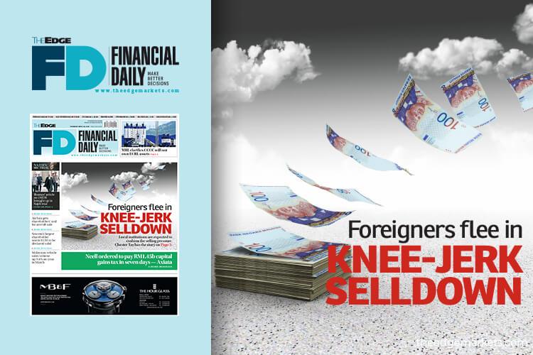 Foreigners flee in knee-jerk selldown
